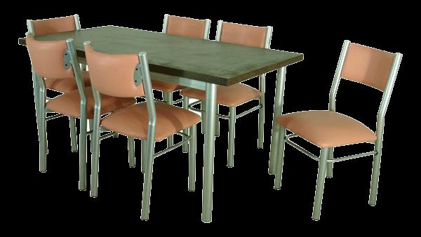 Terpar muebles for Pedestales metalicos para mesas